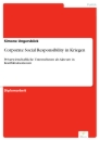 Titel: Corporate Social Responsibility in Kriegen