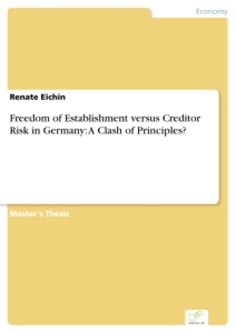 Titel: Freedom of Establishment versus Creditor Risk in Germany: A Clash of Principles?