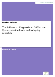 Titel: The influence of hyproxia an GATA-1 and Epo expression levels in developing zebrafish