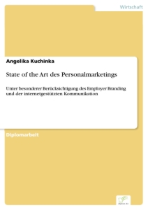 Titel: State of the Art des Personalmarketings