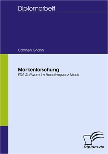 Titel: Markenforschung: EDA-Software im Hochfrequenz-Markt