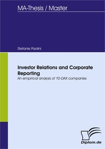 Titel: Investor Relations and Corporate Reporting