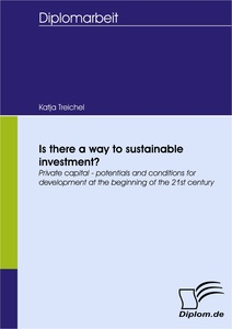 Titel: Is there a way to sustainable investment?