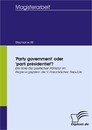 Titel: 'Party government' oder 'parti présidentiel'?