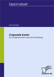 Titel: Corporate Events - Ein Erfolgsinstrument des Eventmarketings