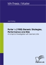Titel: Porter´s (1980) Generic Strategies, Performance and Risk