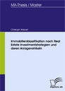 Titel: Immobilienklassifikation nach Real Estate Investmentstrategien und deren Anlagevehikeln
