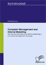 Titel: Complaint Management and Internal Marketing
