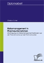 Titel: Risikomanagement in Pharmaunternehmen