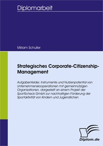 Titel: Strategisches Corporate-Citizenship-Management