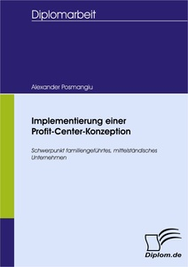 Titel: Implementierung einer Profit-Center-Konzeption