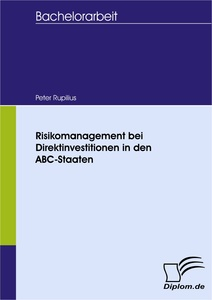 Titel: Risikomanagement bei Direktinvestitionen in den ABC-Staaten