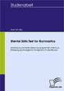 Titel: Mental Skills Test for Gymnastics