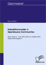 Titel: Interaktionsmuster in OpenSource Communities