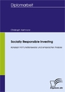 Titel: Socially Responsible Investing