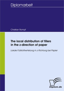 Titel: The local distribution of fillers in the z-direction of paper