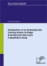 Titel: Introduction of an Employee-Led Training System at Stage Entertainment Germany: A Qualitative Study