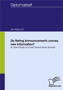 Titel: Do Rating Announcements convey new Information?
