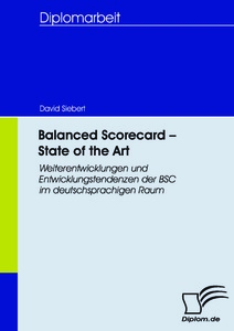 Titel: Balanced Scorecard - State of the Art