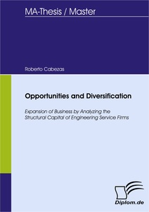 Titel: Opportunities and Diversification - Expansion of Business by Analyzing the Structural Capital of Engineering Service Firms