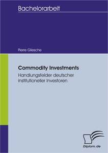 Titel: Commodity Investments