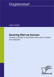 Titel: Sourcing Start-up Success