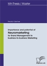 Titel: Importance and potential of Neuromarketing for Brand Management in business-to-business Marketing