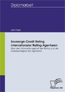 Titel: Sovereign Credit Rating internationaler Rating-Agenturen
