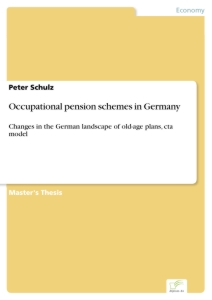 Titel: Occupational pension schemes in Germany