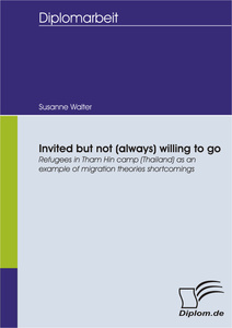 Titel: Invited but not (always) willing to go: Refugees in Tham Hin camp (Thailand) as an example of migration theories shortcomings