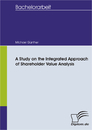 Ti A Study on the Integrated Approach of Shareholder Value Analysis
