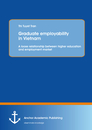 Titel: Graduate employability in Vietnam: A loose relationship between higher education and employment market