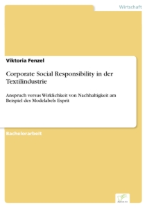 Titel: Corporate Social Responsibility in der Textilindustrie