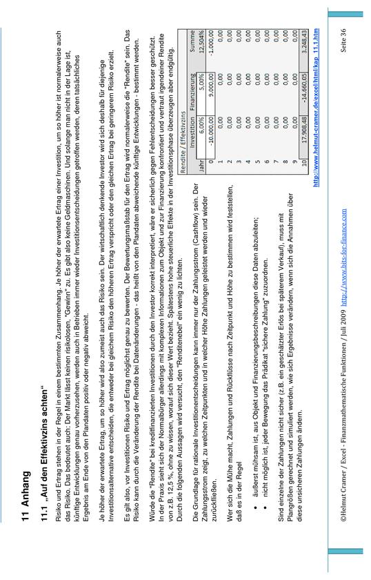 Finanzmathematische Funktionen mit Excel | Masterarbeit, Hausarbeit ...