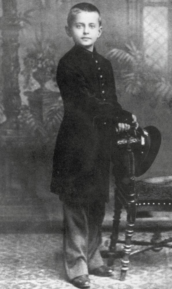 Leo Trotzki als Kind.