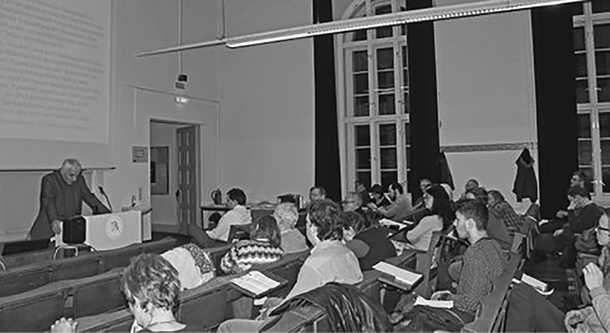 Ein Teil der IYSSE Veranstaltung an der HU