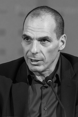 Finanzminister Yanis Varoufakis (Jörg Rüger)