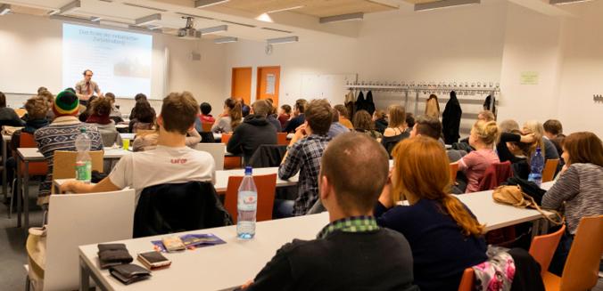 Die Veranstaltung an der Humboldt-Universität