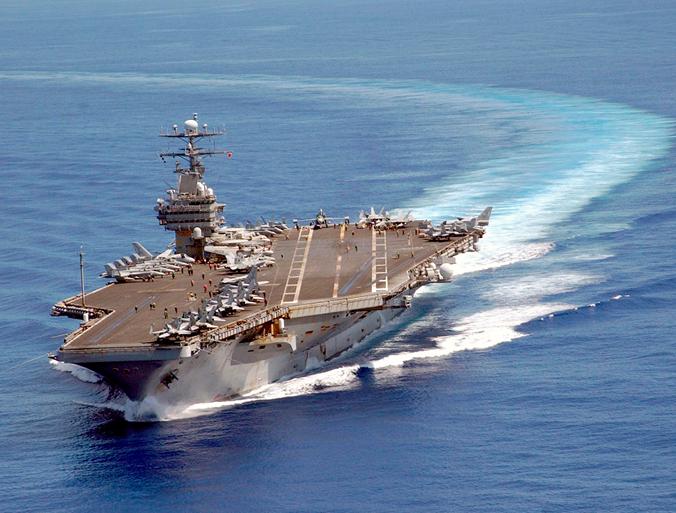 USS Carl Vinson im Pazifik