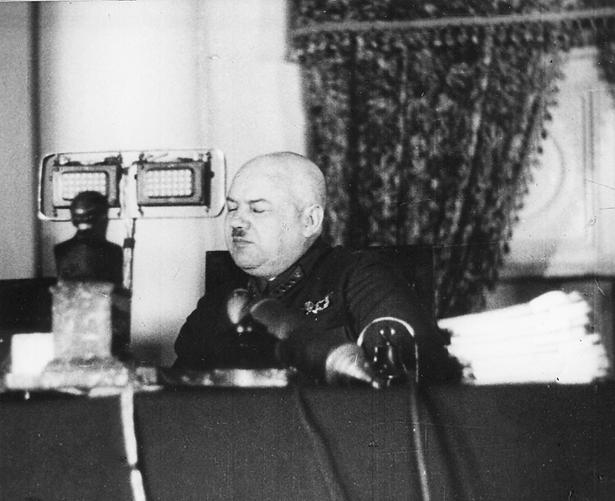 Ulrich als Gerichtsvorsitzender