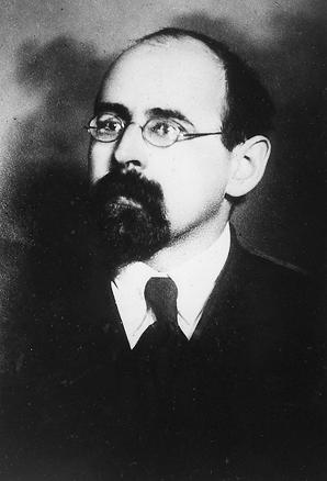 Porträt von N. N. Krestinski