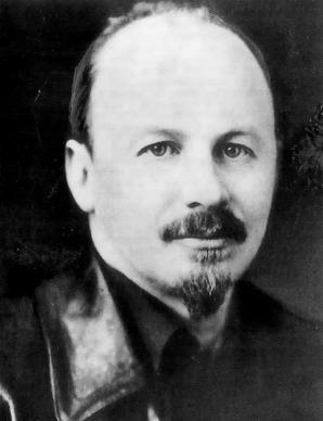 Porträt von N.I. Bucharin