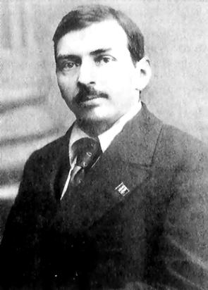 Porträt von M.P. Tomski