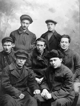 Gruppe verbannter Oppositioneller inderKomi ASSR. 1928