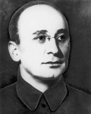 Porträt von L.P. Berija