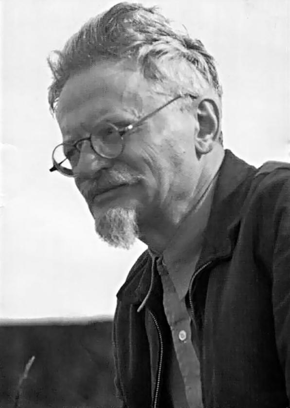 Лев Троцкий в Койоакане, Мексика, 1940 г.
