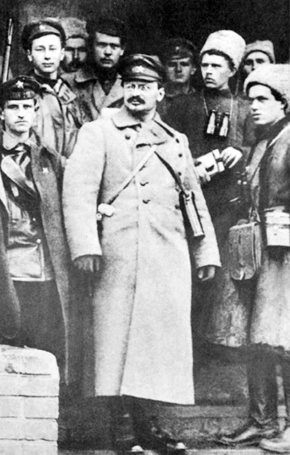 Троцкий — глава Красной армии в годы Гражданской войны