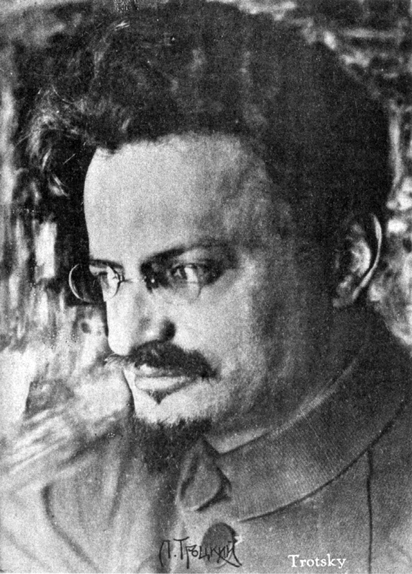 Фотография Троцкого, сделанная в 1919 году выдающимся фотографом-портретистом Моисеем Наппельбаумом. Из коллекции Дэвида Кинга.