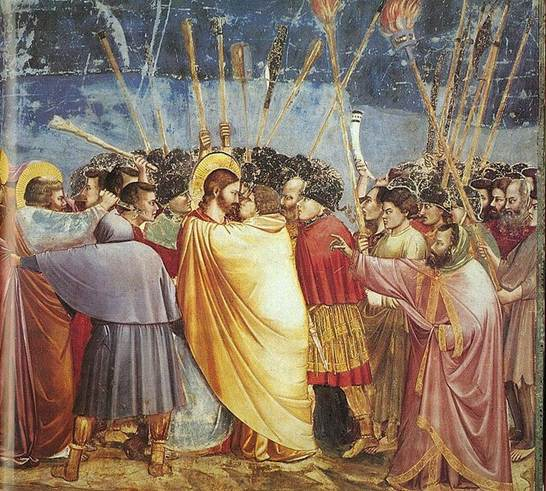 File:Giotto - Scrovegni - -31- - Kiss of Judas.jpg